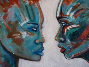 Becoming, Mixed Media on Canvas | Sabrina Brett