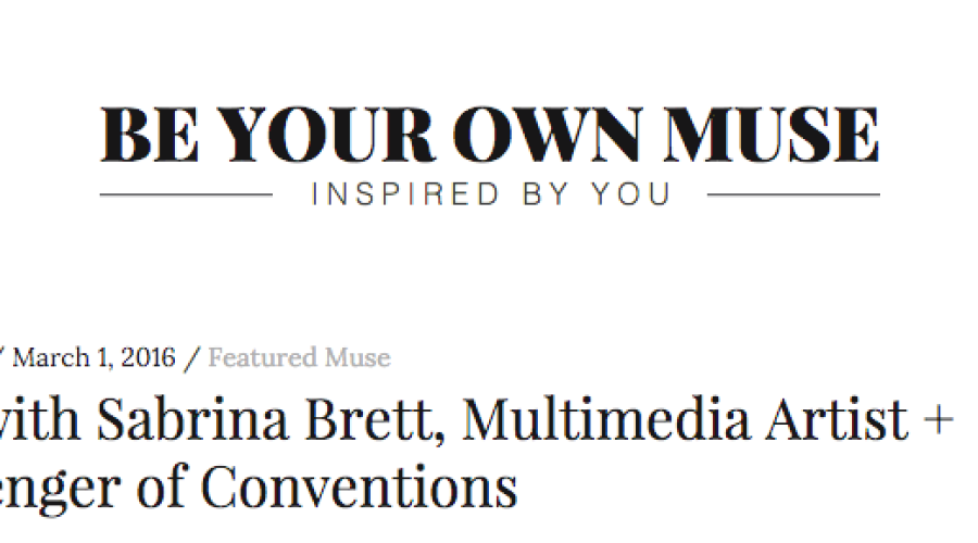 Q&A with Be Your Own Muse
